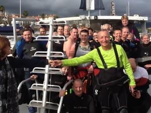 Plongeurs heureux :)